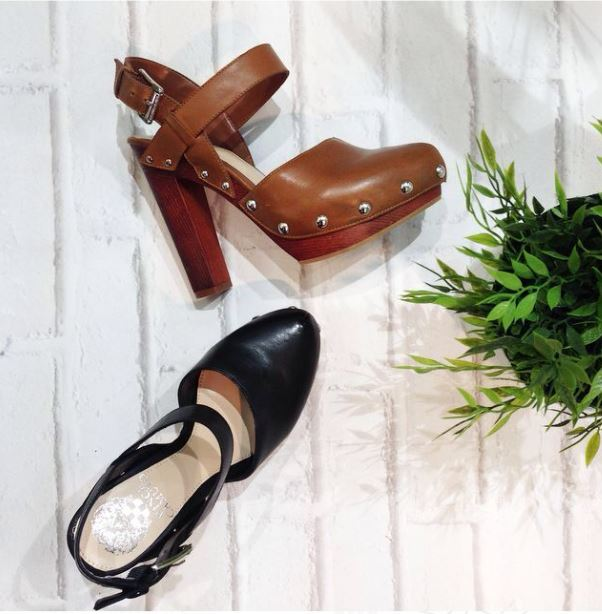 Vince camuto clogs